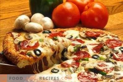Op welke temperatuur pizza
