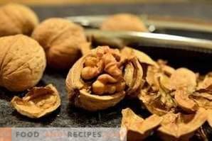Как да съхранявате орехи
