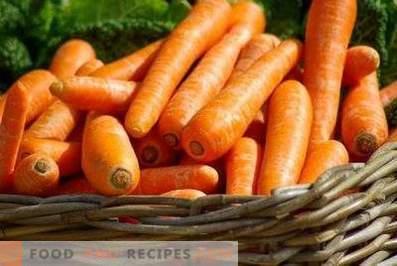 Comment conserver les carottes