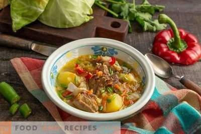 Heerlijke schapenvlees soep