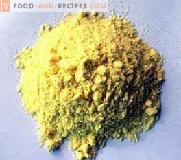 Barva E102: učinek na telo