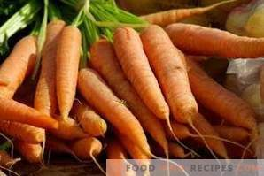 How to freeze carrots for the winter