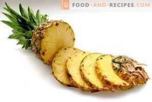 Ananas: koristi za zdravje in škoda
