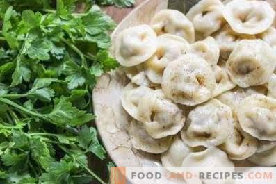 Stuffings for ravioli